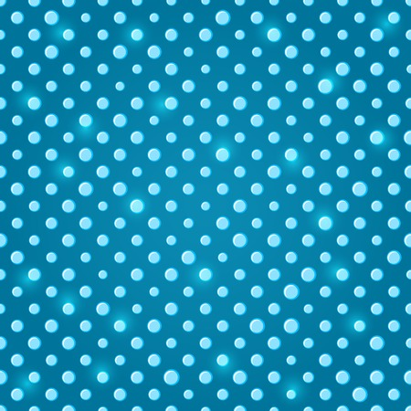Sparkle Green Blue Polka dot Seamless Pattern Background Illustration
