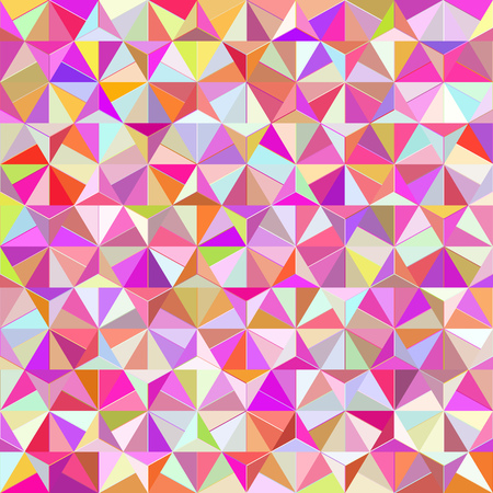 spasmodic: Geometric Triangle Shape Seamless Pattern. Vector Illustration Illustration