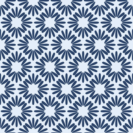 Vector Geometric Seamless Pattern. Tiled Background Vector