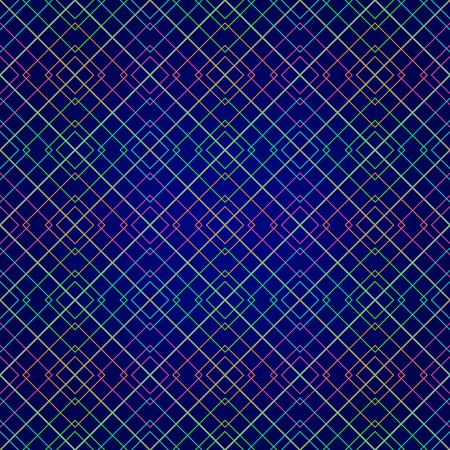 cross hatched: Dark Purple Geometric Seamless Pattern. Vector Background