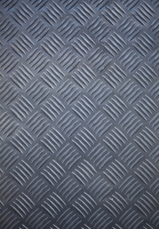 salvage yards: Seamless steel diamond plate texture Stock Photo