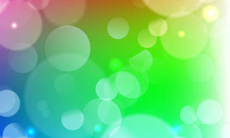 Abstract light golden gradient pink festive bokeh background with glitter sparkle blurred circles, Christmas lights. Beautiful texture.