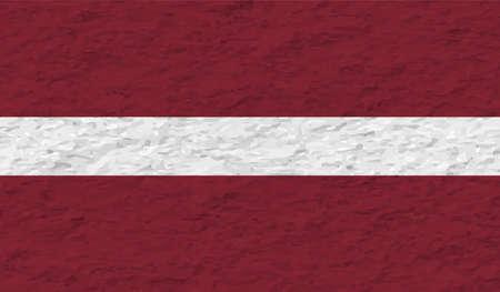 Latvia national grunge flag for your designs.