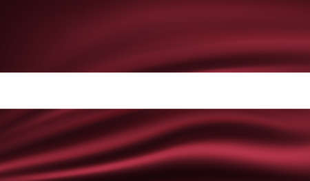 Latvia national grunge flag for your designs.