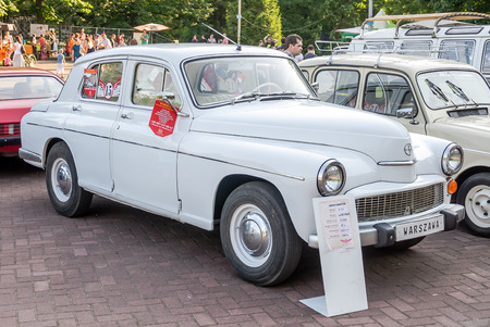 lemberg: Lviv Ukraine June 2015: Auto festival Leopolis grand prix 2015. Old vintage retro car