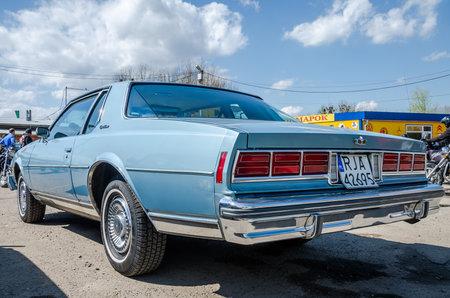 lemberg: LVIV, UKRAINE - APRIL, 2016: Old fashion vintage retro car Chevrolet