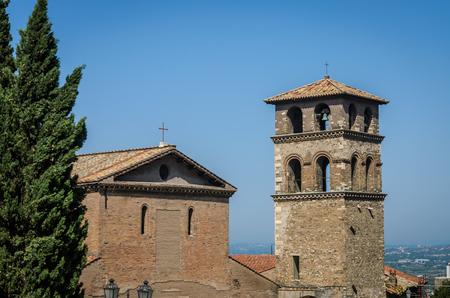 The dome of the ancients antique church Archivio Fotografico - 112632757