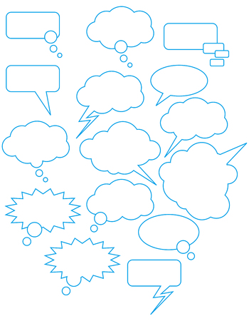 cartooning: speech bubbles for the drawn comics