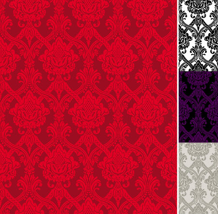 retro wallpapers with a floral decorative pattern