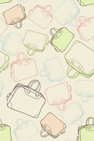 brown leather: pattern of the travel bags