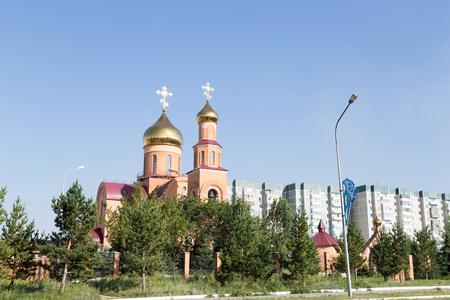 聖ニコラス大聖堂。テルミタウ、カザフスタン