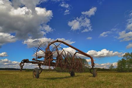 Tractor rake