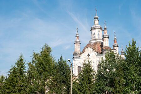 変容大聖堂。シャドリンスク, ロシア