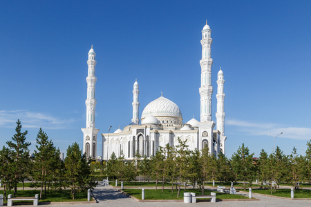 Hazrat Sultan Mosque. Astana, Kazakhstan