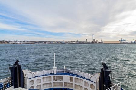 Oresund Strait, view from the ferry