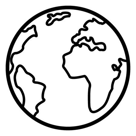 Single Basic Icon - Globe