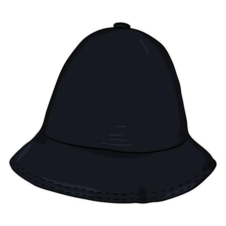 Vector Single Black Cartoon Bucket Hat. Hip-hop Cap. Stock Vector - 91671104 0954abd1f9c