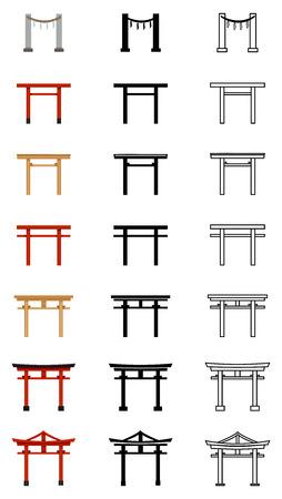 Torii Gate Icons