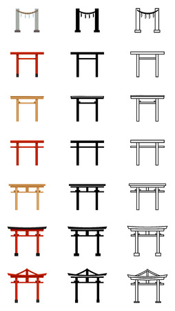 Torii Gate Icons