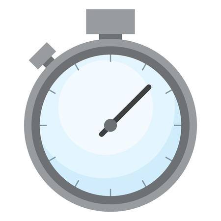 Color Flat Icon - Stopwatch Vektorové ilustrace