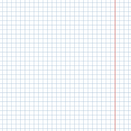 Vector Blank Notebook Squared Paper Background