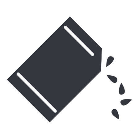 Package of Seeds. Sowing Basic Icon.
