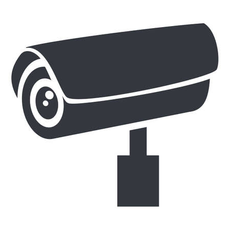 CCTV Basic Icon. Vector Security Camera Symbol
