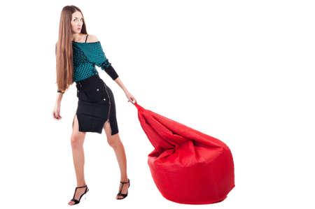 Woman with bag