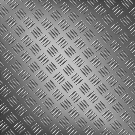 Background of metal with repetitive patten vector