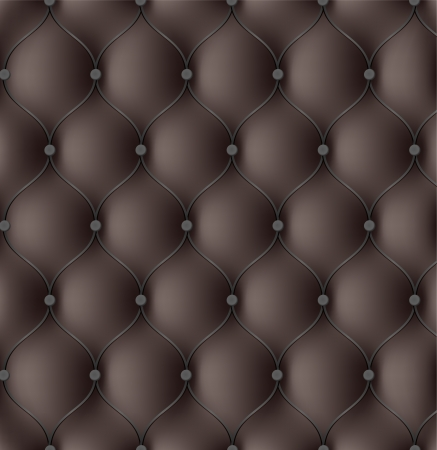 Leather upholstery. Seamless Vector