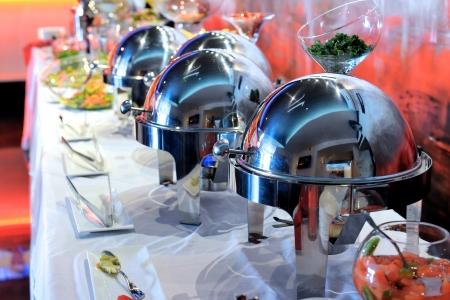 buffet: Smorgasbord - voedselkeuze in een restaurant