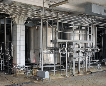 stainless: Dairy food-processing industry