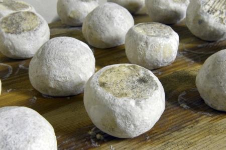 terroir: well ripened goat and ewe cheeses