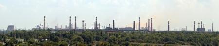 industrial landscape: Panoramica paesaggio industriale Archivio Fotografico