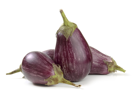 tapering: eggplant varieties of graffiti on a white background