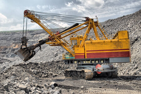 big dredge in career of iron ore
