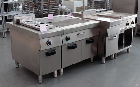 friture: professional restaurant equipment in the shop
