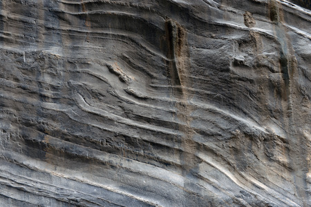 igneous: The close-up relief of the rocks