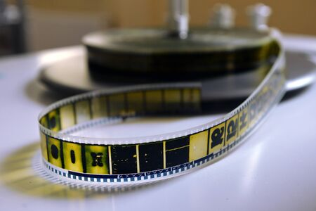 pasteboard: film strip on the pasteboard