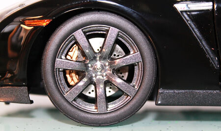 castings: Model Nissan GT-R wheel