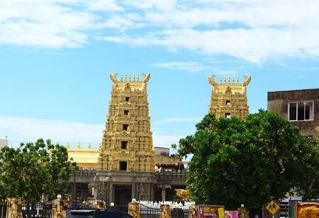 sri lanka temple: Hindu temple in Galle, Sri Lanka