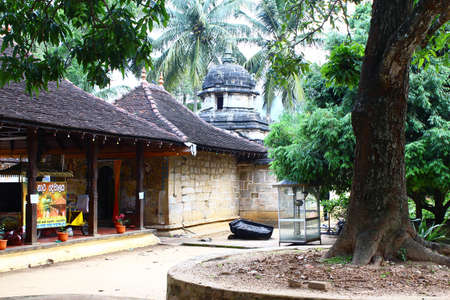 house of prayer: Buddhist house of prayer, the temple of the tooth Stock Photo