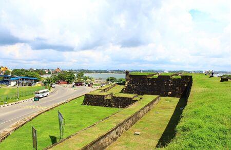 galle: Fort in Galle. Sri Lanka