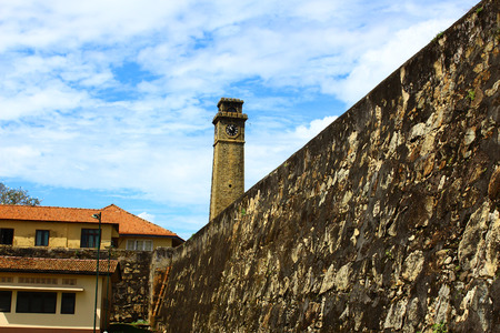 galle: The clock tower, Galle Fort