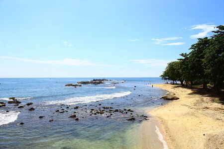 galle: The shore of the Indian ocean, Galle, Sri Lanka Stock Photo