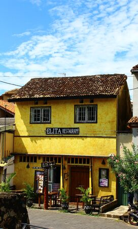 galle: Restaurant Elita, Galle Fort