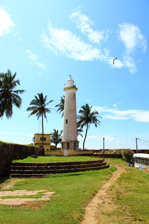 galle: Lighthouse in Galle Fort