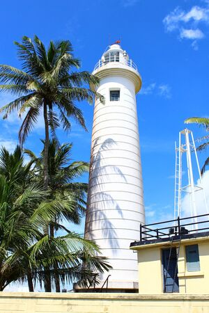 galle: Lighthouse in Galle Fort, built in 1938