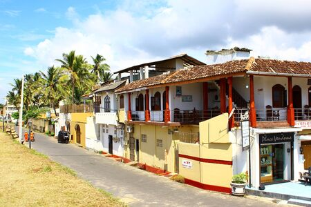 galle: Street trading stalls in Galle Fort