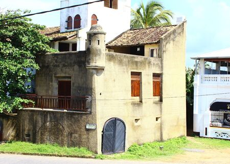 galle: Building in Galle Fort